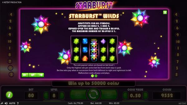 Игровой автомат Starburst - выгодно играть в Вулкан казино онлайн