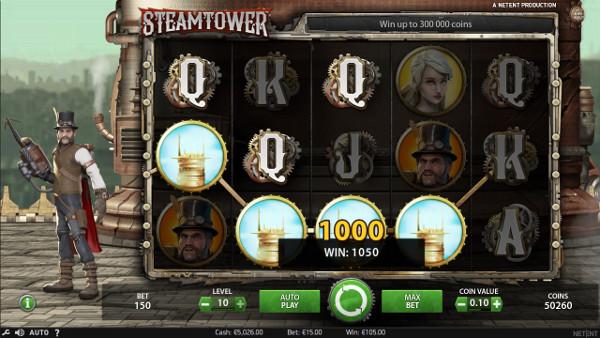 Игровой автомат Steam Tower - играть на зеркало Вулкан Гранд казино