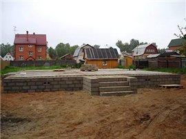 Какие, основные типы фундамента бывают в строительстве?